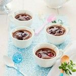 Clafoutis de cerezas con chocolate