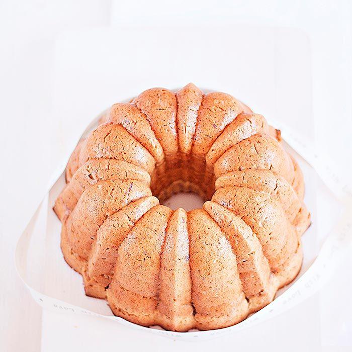 Bundt Cake de pacanas y naranjas
