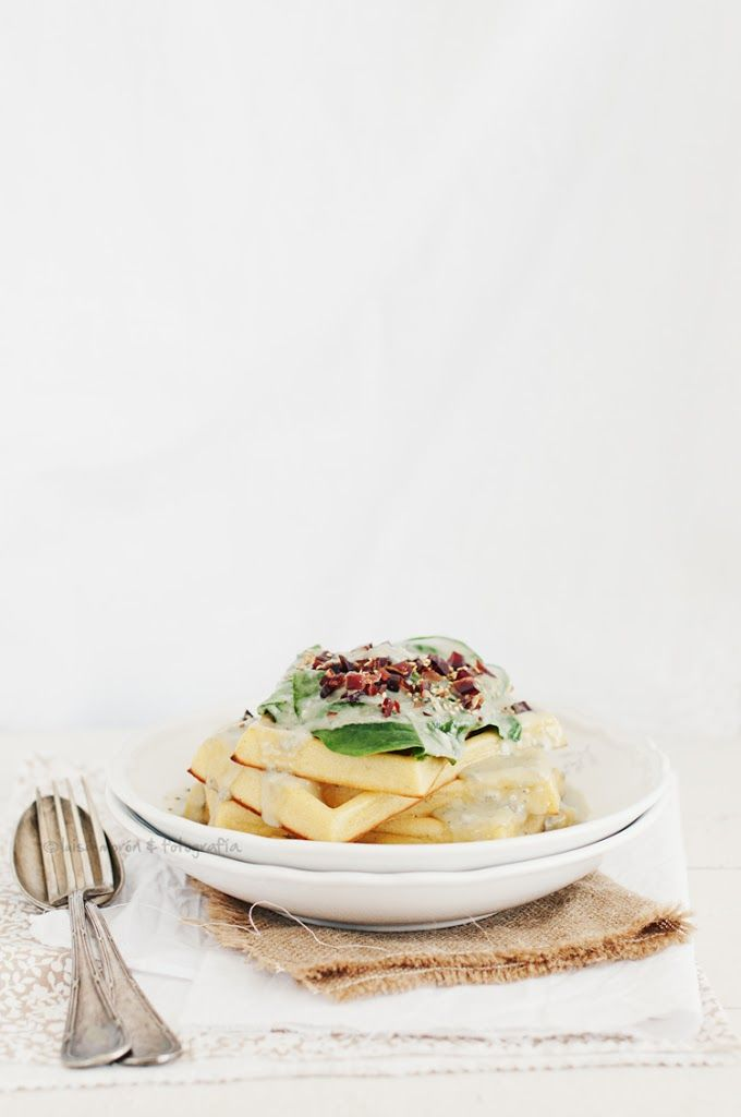 Gofres salados