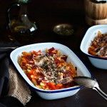 Macarrones con salsa de tomate casera