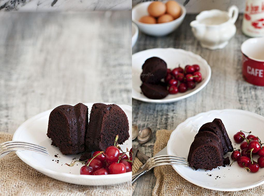 bizcocho-de-chocolate-casera