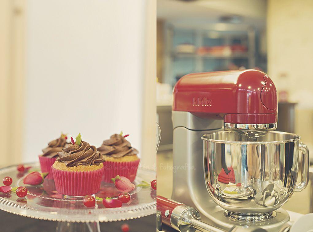 Cupcake perfecto con KMix de Kenwood