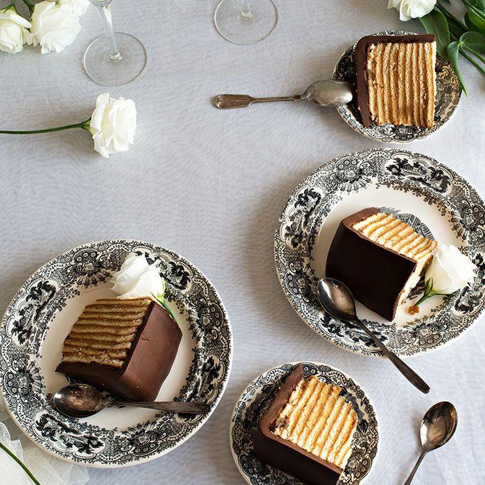 Tarta de Fondant Chocolate