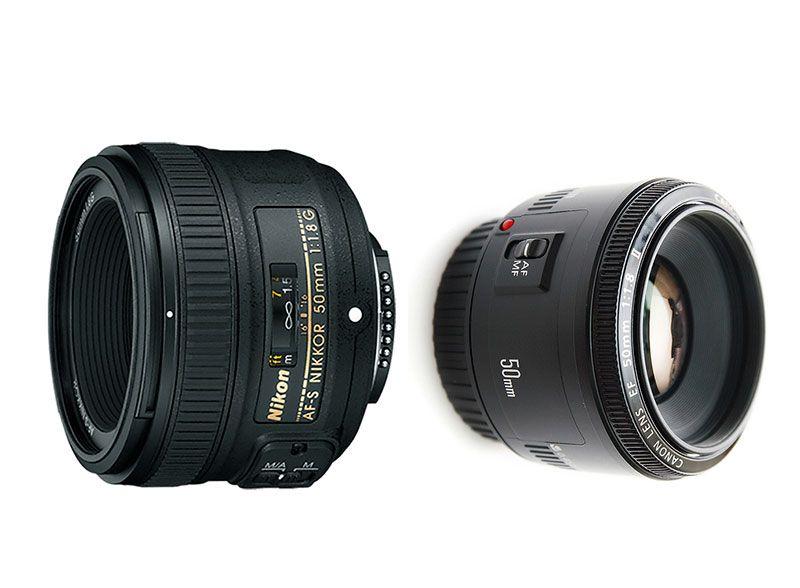 Objetivo 50mm f1.8