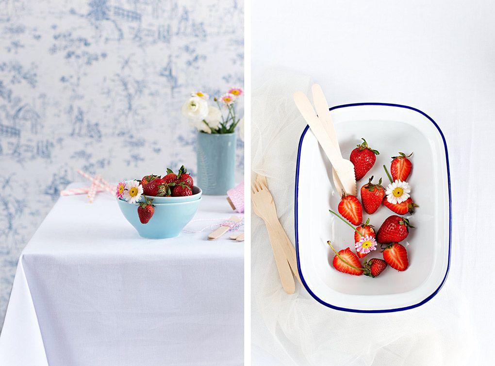 Receta de Smoothie de fresas