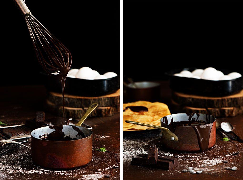Como hacer crepes dulces