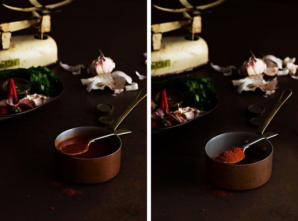 Ingredientes para hacer el mojo picón