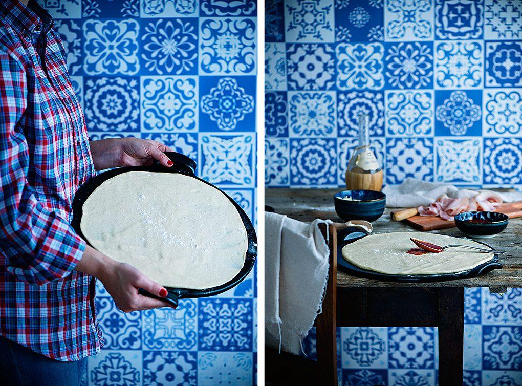 pizza-carbonara-casera