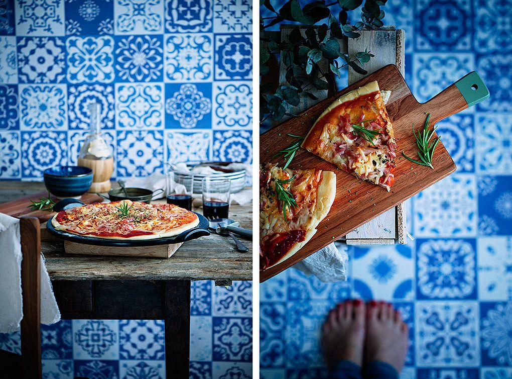 pizza-casera-carbonara