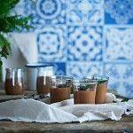 Mousse de chocolate con cardamomo y canela