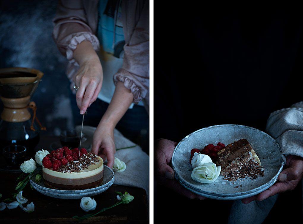 tarta-tres-chocolates-casera