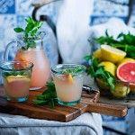 Limonada de limón y pomelo