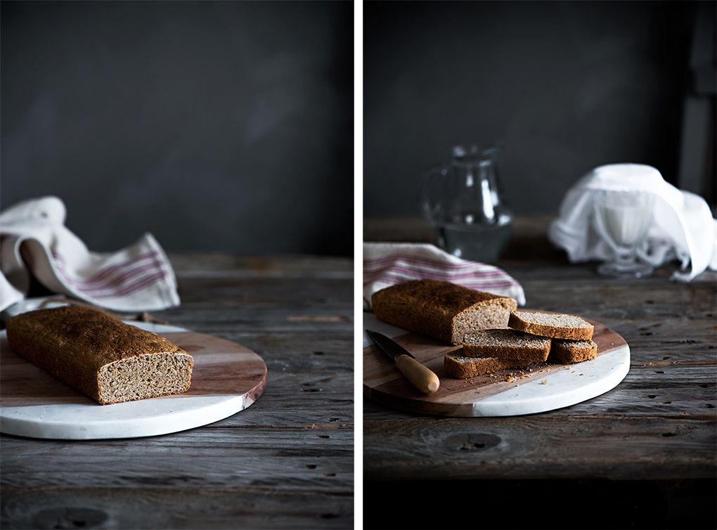 Preparación del pan de molde