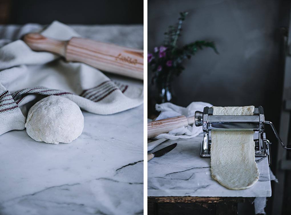Cómo hacer pasta fresca italiana