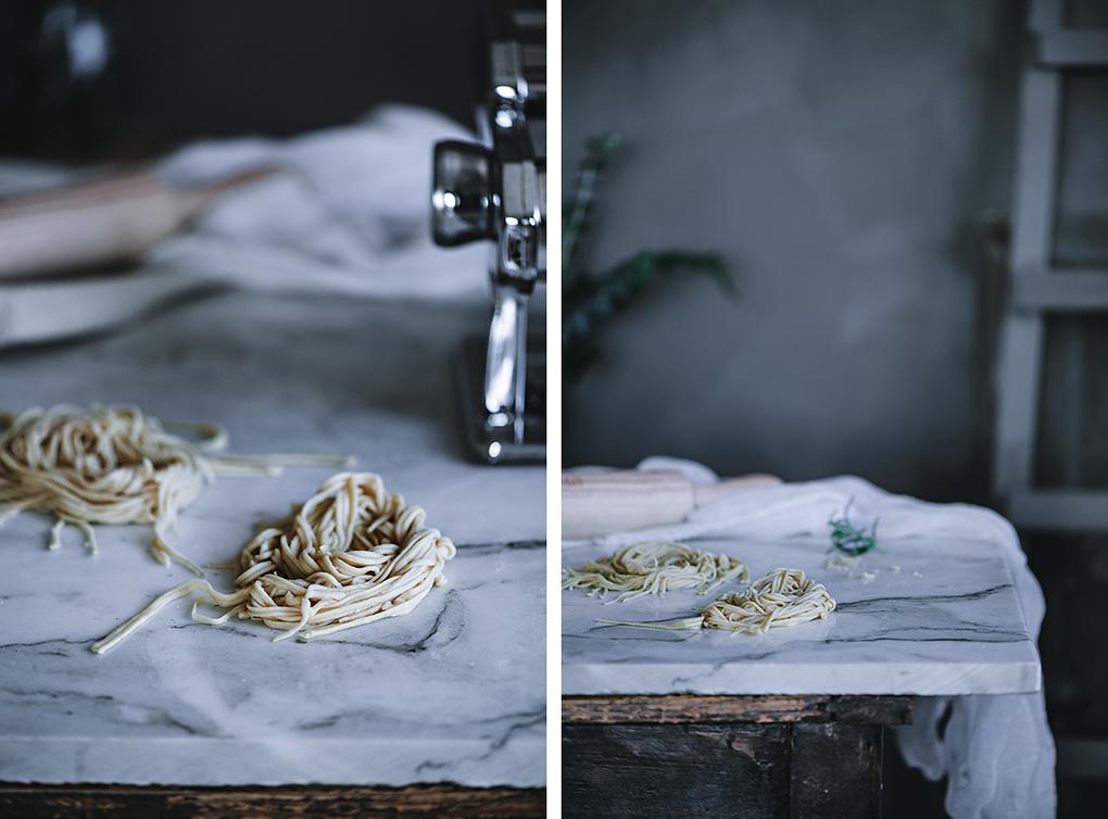 Preparación de la pasta fresca