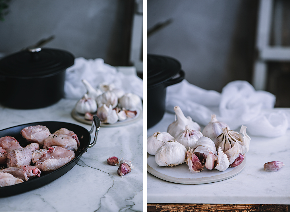 Cómo se hace el pollo al ajillo