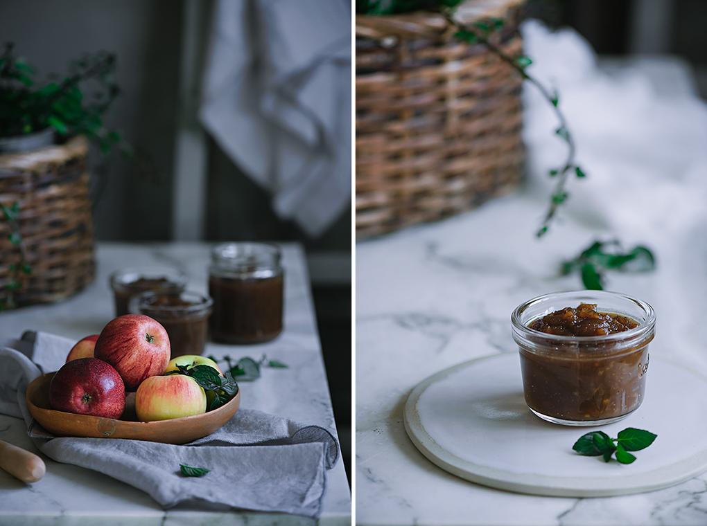 Confitura de mermelada de manzanas