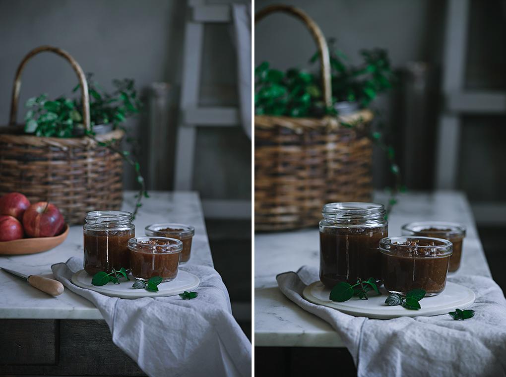 Ingredientes para la mermelada de manzanas
