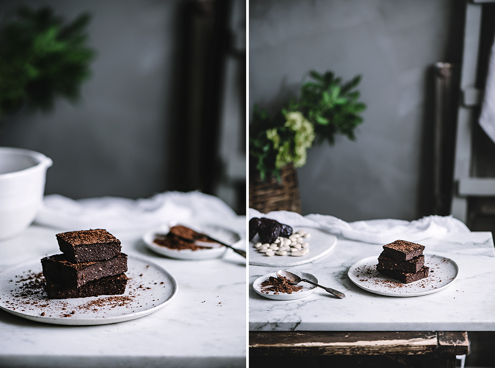 Brownie de chocolate con almendras