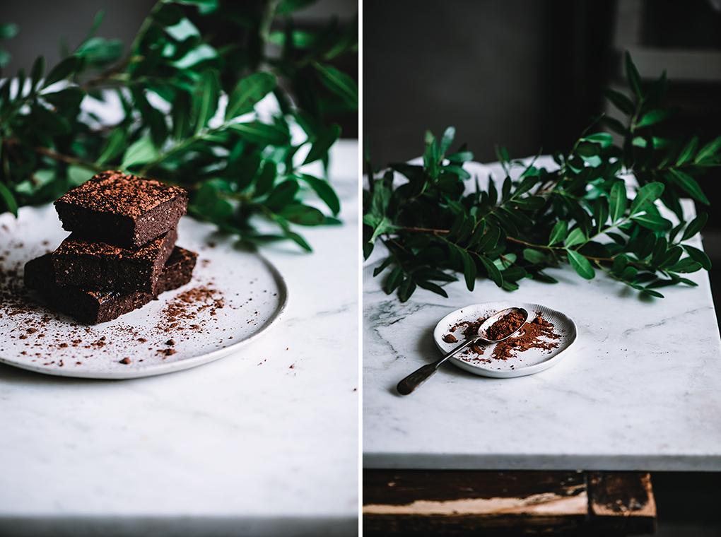 Ingredientes para el brownie