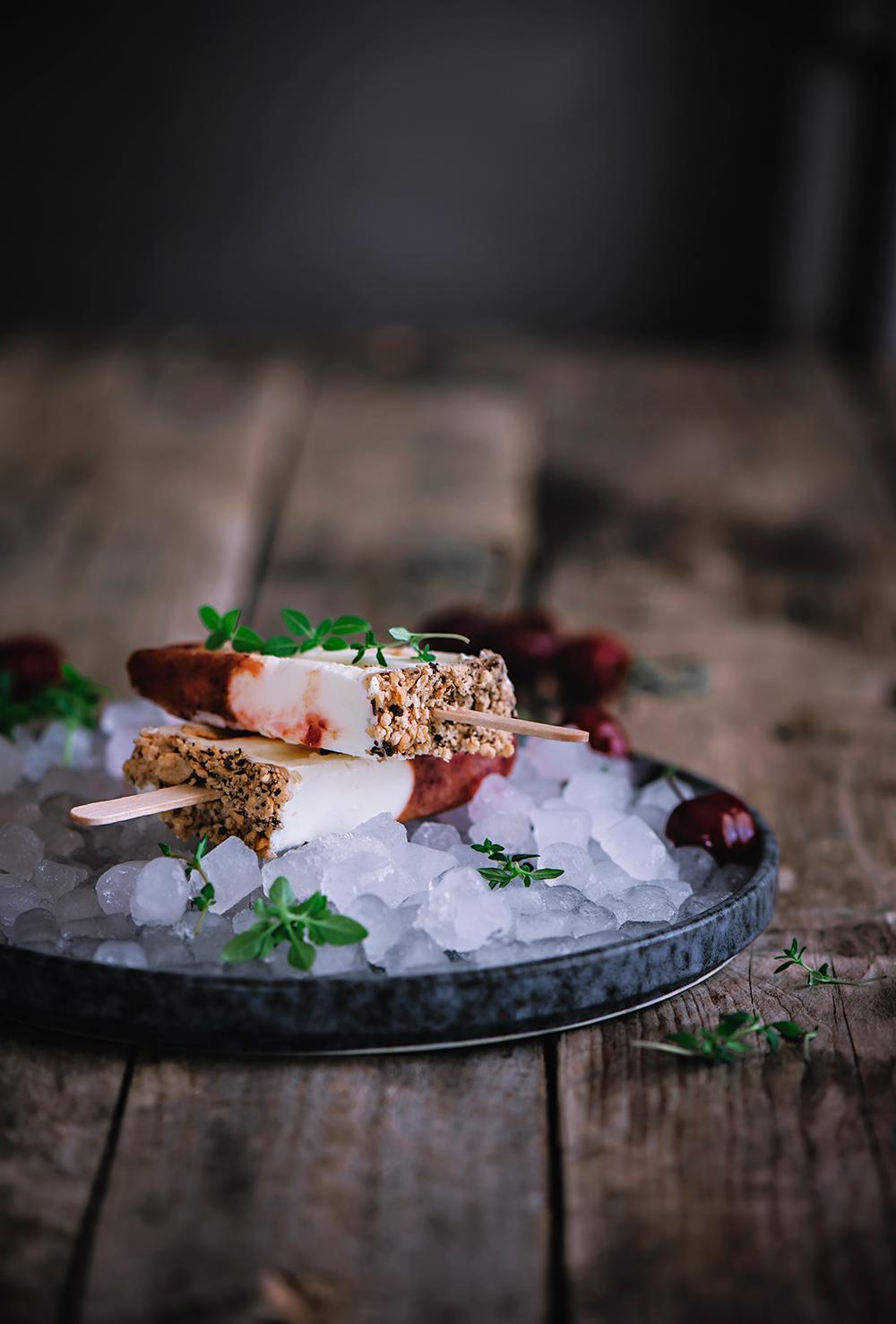 Polos de yogur griego