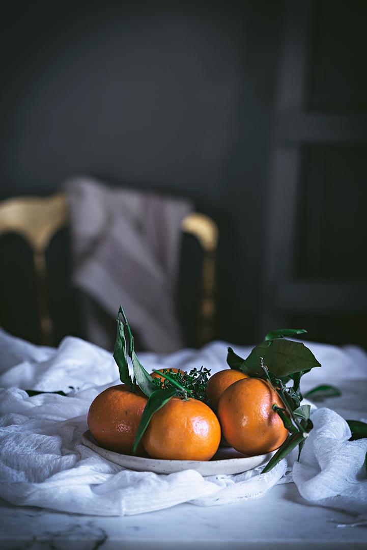receta de tarta de mandarina