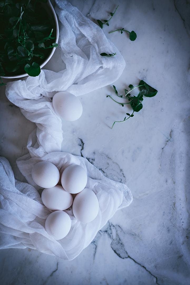 Huevos rellenos caseros