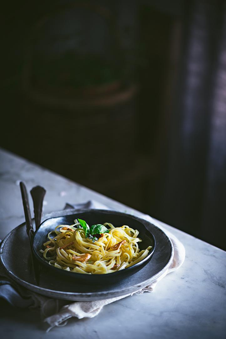 como-preparar-fetuccini-al-ajo