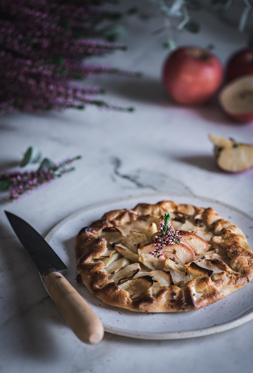 Galette-casera-de-manzanas